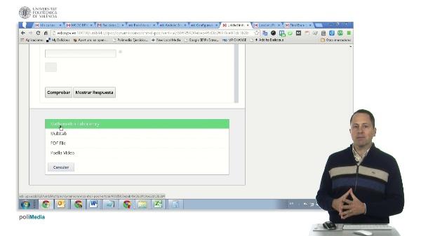 edX Studio. Añadir componente de modulo avanzado