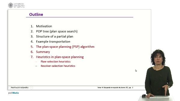 Búsqueda en espacios de planes IV