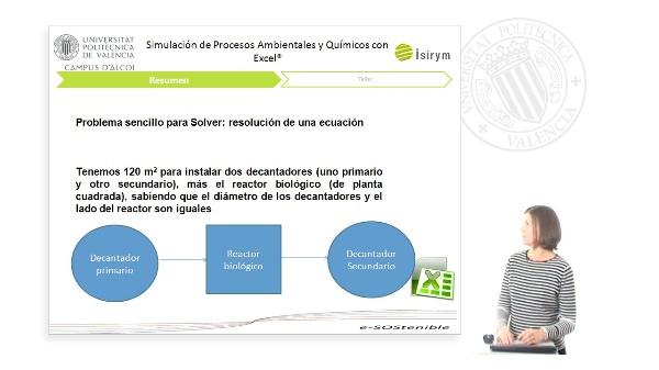 Resumen Unidad 4. Simulación de Procesos Ambientales y Químicos con Excel¿