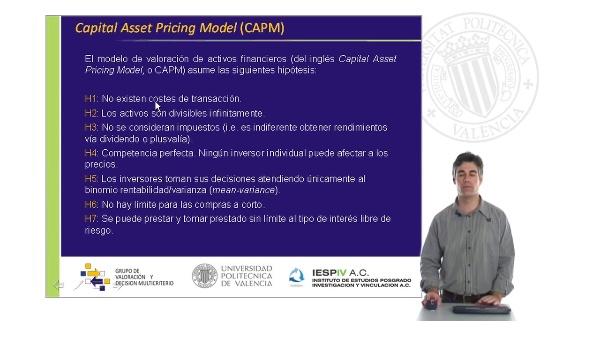Modelos de equilibrio de mercado III