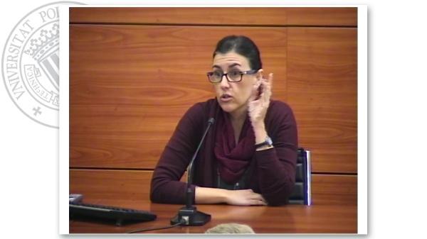 Intervención de Marta Garcia. Turno de preguntas