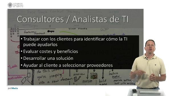 Carreras profesionales en las Tecnologías de la Información. TI en los negocios