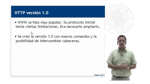 El protocolo HTTP (versión 1.0)