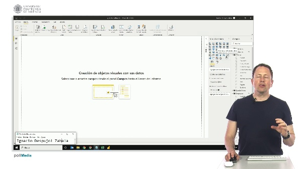 MOOC Power BI. Visualización influenciadores clave