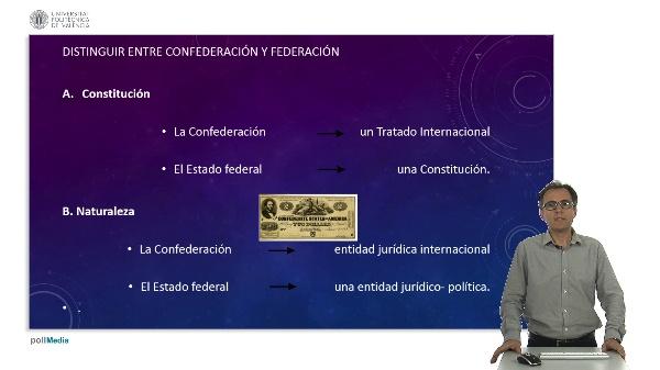 La confederación de Estados.