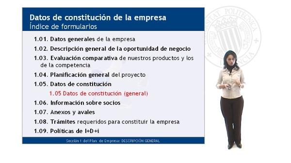 Datos de Constitución