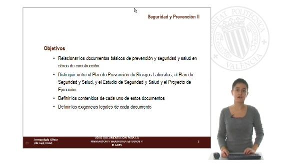 UD 03: Documentación para la Prevención y Seguridad: Estudios y Planes