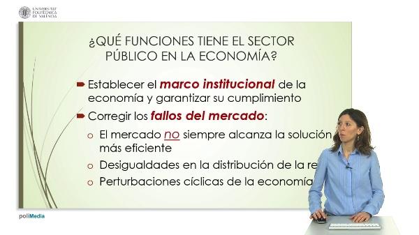 Intervención pública en la economía española: las administraciones y su gasto