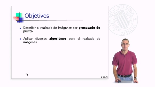 Algoritmo de realzado de imágenes por porcesado de punto