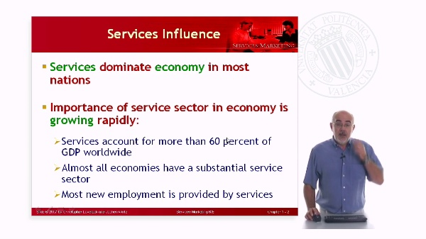 Services Economy Changes