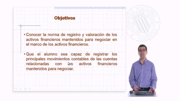 Activos financieros mantenidos para negociar