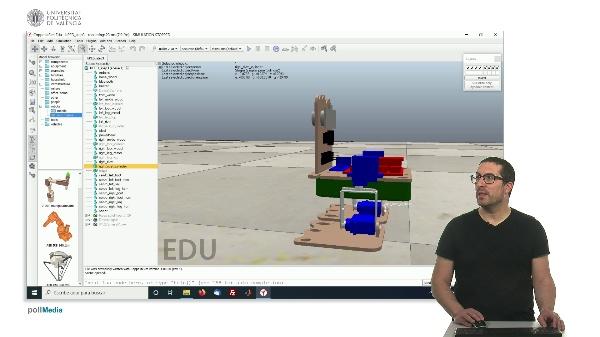 CoppeliaSim (V-REP): Creating bPED robot (Step 3).
