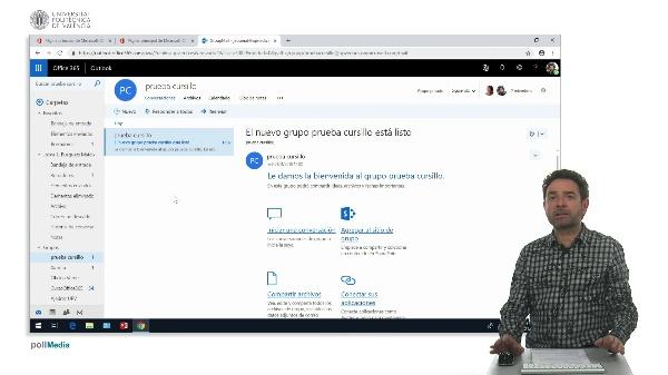 Cuenta de correo de un grupo en Office 365