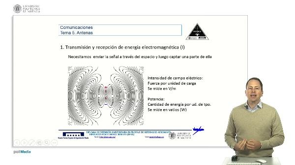 Master RPAS. Asignatura comunicaciones. Transmisión energía electromagnética