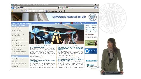 Presentación portal Universidad Nacional del Sur