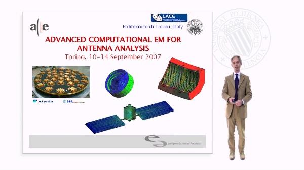 Advanced Computational EM for Antenas Analysis