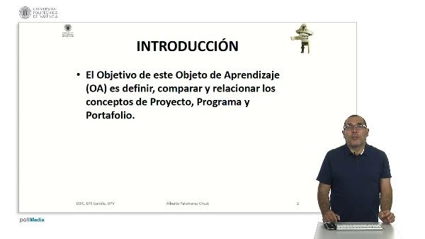 Proyectos, programas y portafolios