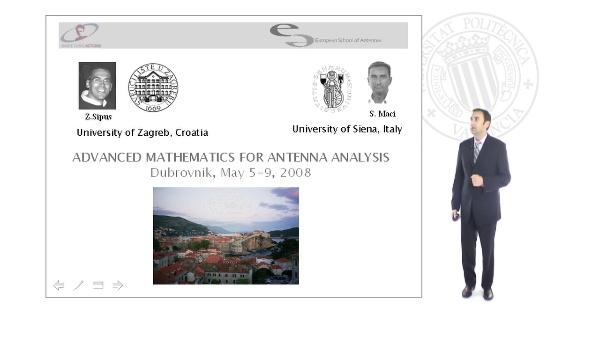 Advanced Mathematics for Antenna Analysis
