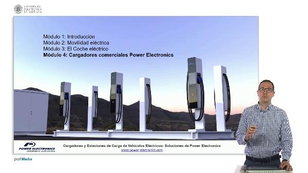 Modulo 4 C cargadores y estaciones de carga de vehículos  eléctricos: soluciones de power electronics (I)
