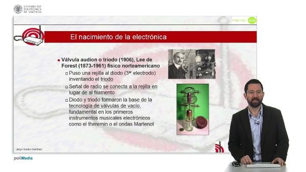 Historia de la Música Electrónica: Nacimiento de la Electrónica - El triodo