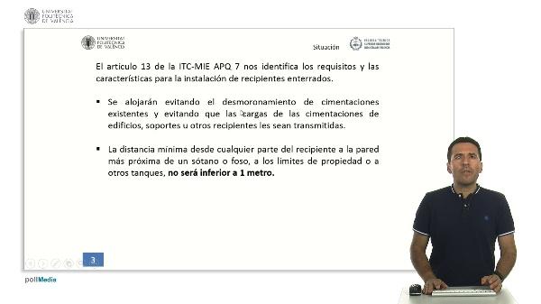 ITC MIE AQP-7: Instalación de Recipientes Enterrados