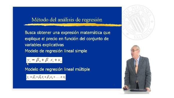 Metodo Análisis de Regresión