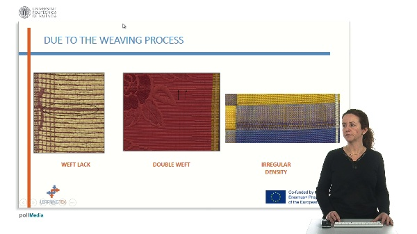 Weaving process. Defect. Introduction