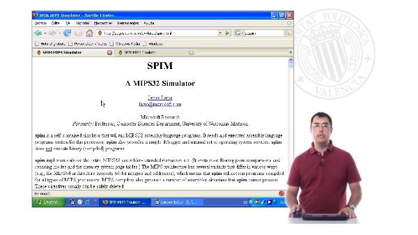 Introducción al programa PCSpim