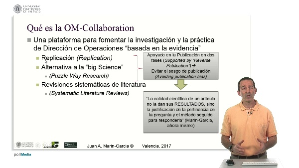 ¿Qué es la Operations Management-Collaboration?