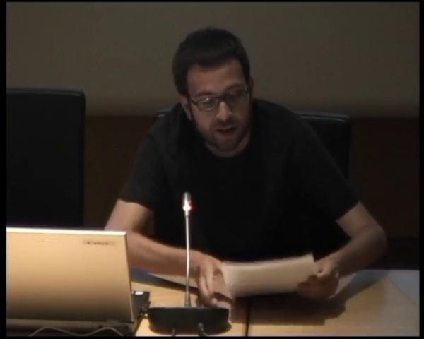 Comunicación: Luis Fco. Herrero García. La investigación para la evolución de la ciudad construida
