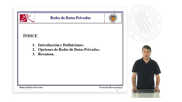 Redes de datos privadas