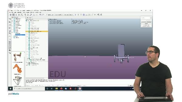 CoppeliaSim (V-REP): Creando robot DYOR (Paso 3).