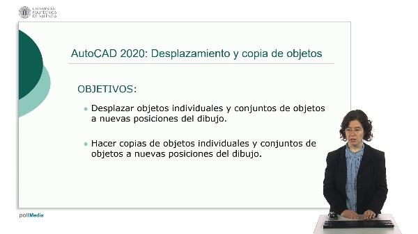 AutoCAD 2020: Desplazamiento y copia de objetos