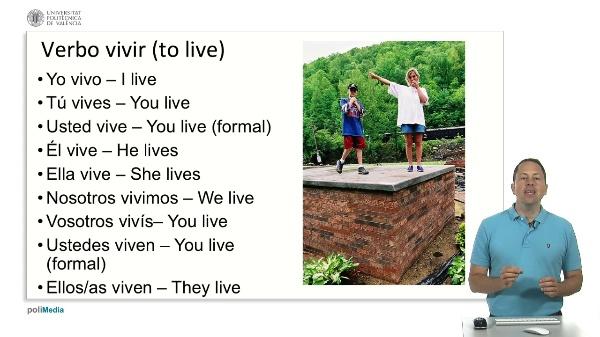 Verbo 'vivir'