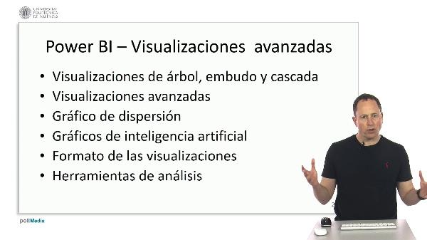 MOOC Power BI. Resumen módulo visualizaciones avanzadas