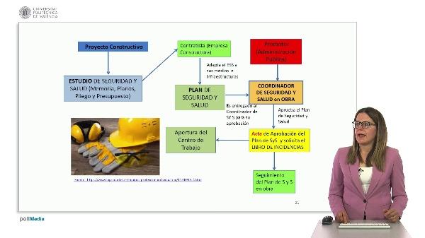 Ingeniería aeroportuaria. Seguridad y salud en la obra