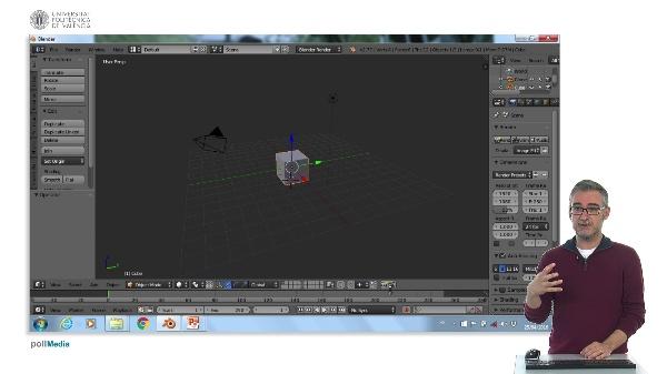 Blender: Configuració de l'entorn.