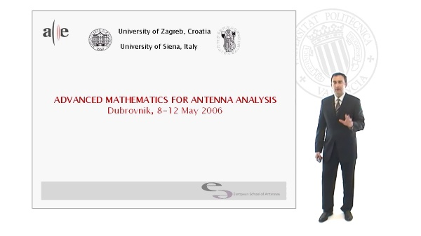 Advanced Mathematics of Antenna Analysis Course