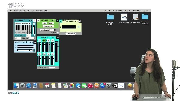 Módulos, direct input, keyboard, VST