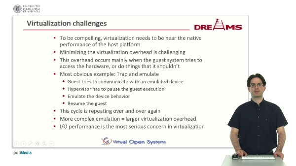 Virtualization challenges and KVM