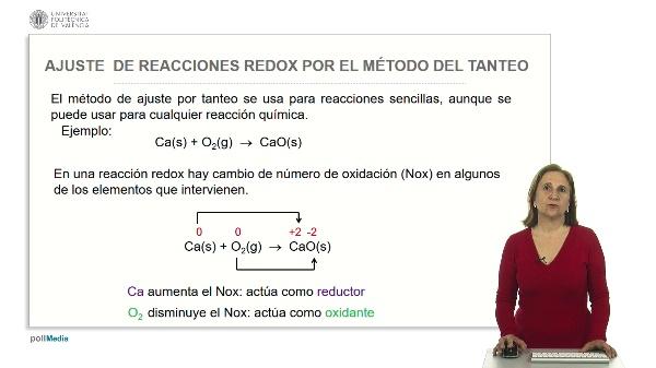 Ajuste de reacciones redox por el método de tanteo