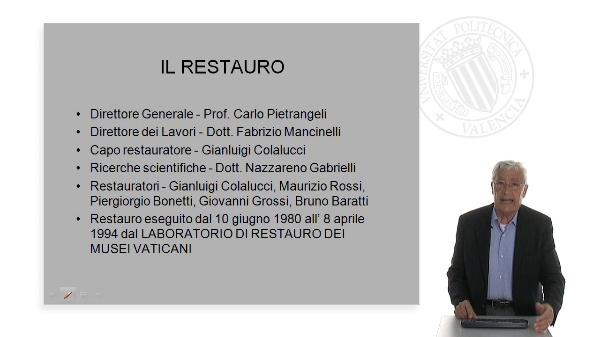 Gianluigi Colalucci - Restaurador de la Capilla Sixtina