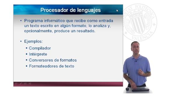 Procesadores de lenguajes. Introducción a los procesadores de lenguajes