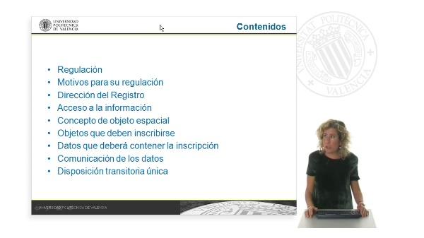 Registro español de objetos espaciales