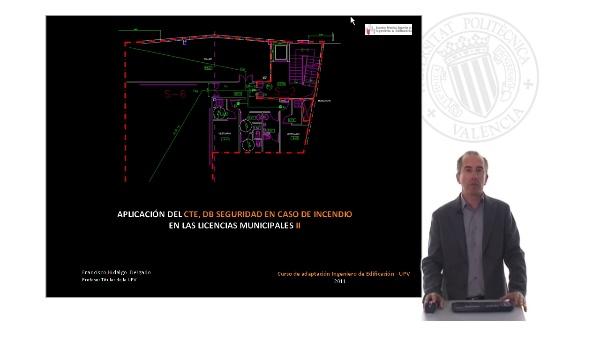 Aplicación del CTE, DB Seguridad en caso de incendio en las licencias municipales II
