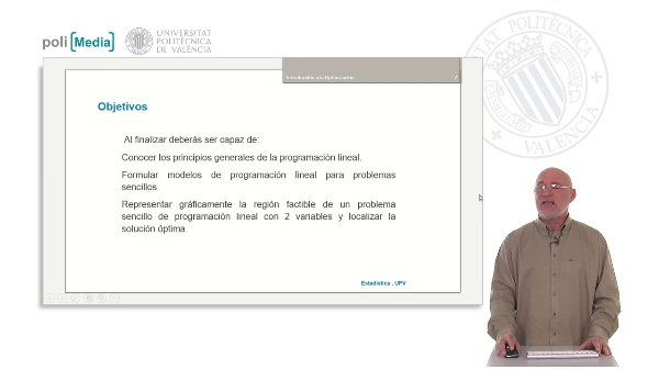 Introducción a la optimización. Programación Lineal