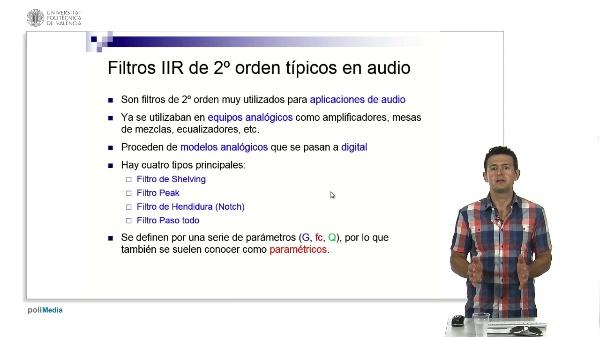 Filtros Paramétricos de 2º Orden para Audio