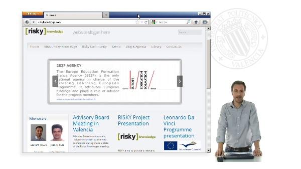 Le partenariat du projet RISKY