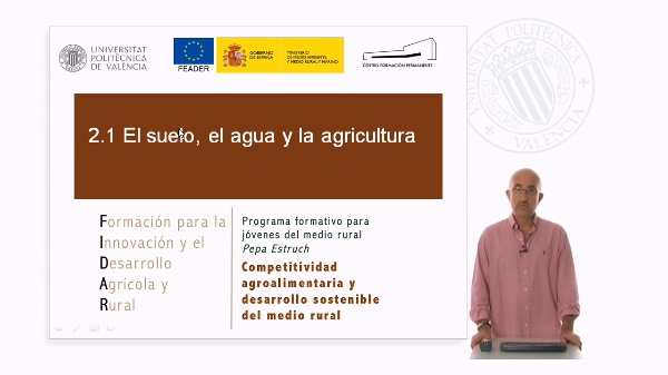 Agricultura suelo y agua