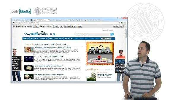 Buscar en Internet. Los portales específicos de información